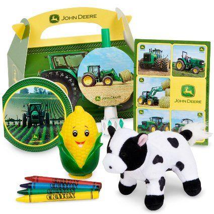 Amazon.com: John Deere Party Favor Box: Toys & Games