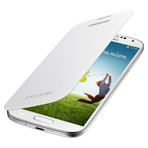 Funda flip cover blanca Samsung Galaxy S4