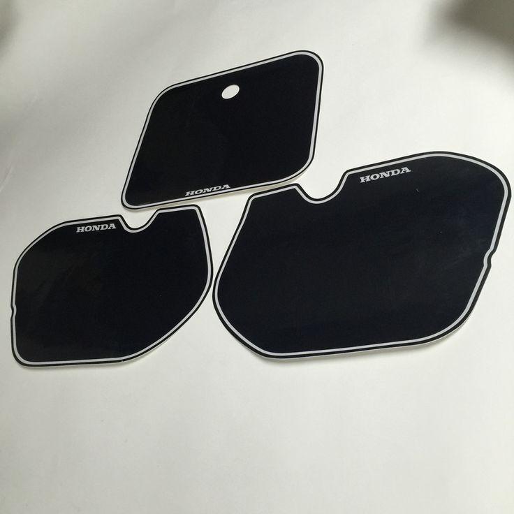 Honda, 1985, CR500, Black Number Plate Backgrounds