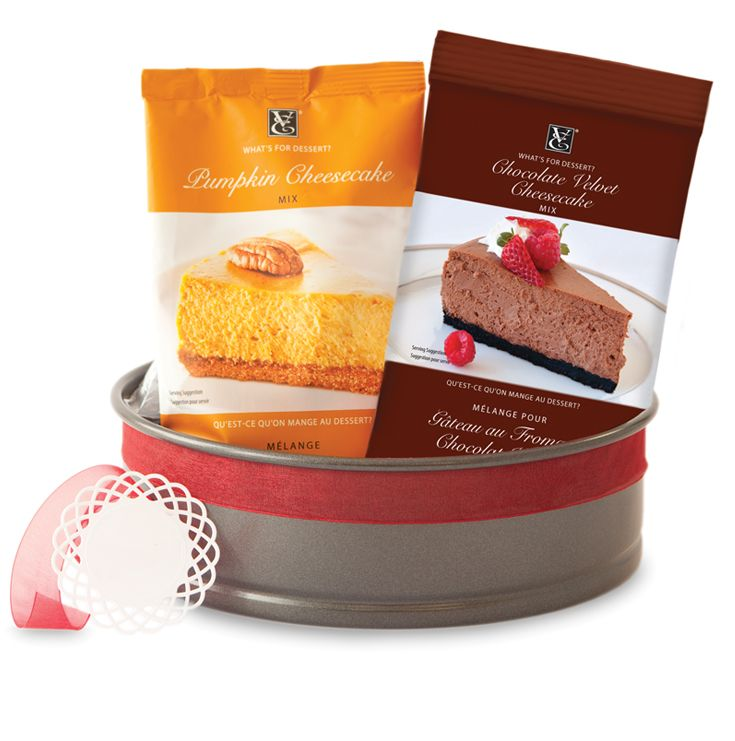Great for first-time bakers, the budding pastry chef, or the bake-sale queen. (What's for Dessert? Pumpkin Cheesecake, What's for Dessert? Chocolate Velvet Cheesecake, Springform Pan)