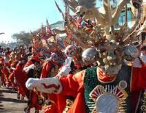 In the Northern Highlands, the Aymara people celebrate Fiesta De La Tirana. This holiday is used to honor the Virgin Mary. The holiday is usually celebrated with a colorful 3-day festival. Christian Chileans also celebrate Christmas. Because the Chileans' Christmas is in the Summer, their Christmas activities are a little different than ours. For example, on Christmas eve, families hold outdoor barbecues, and at midnight, they open their Christmas presents.