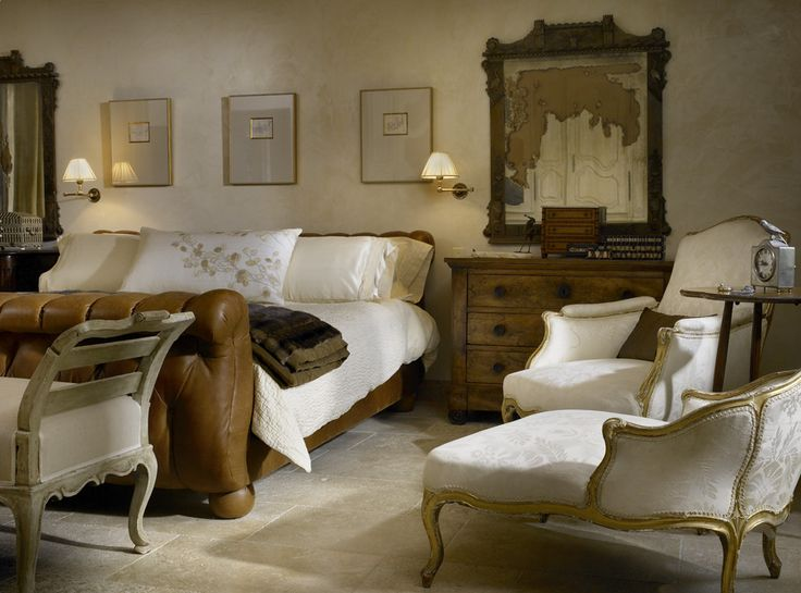 Master Bedroom in Provencal Style