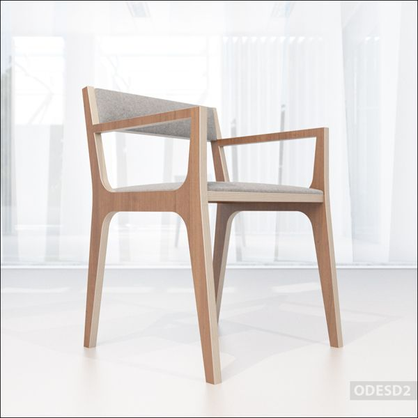 C2 chair by ODESD2 , via Behance