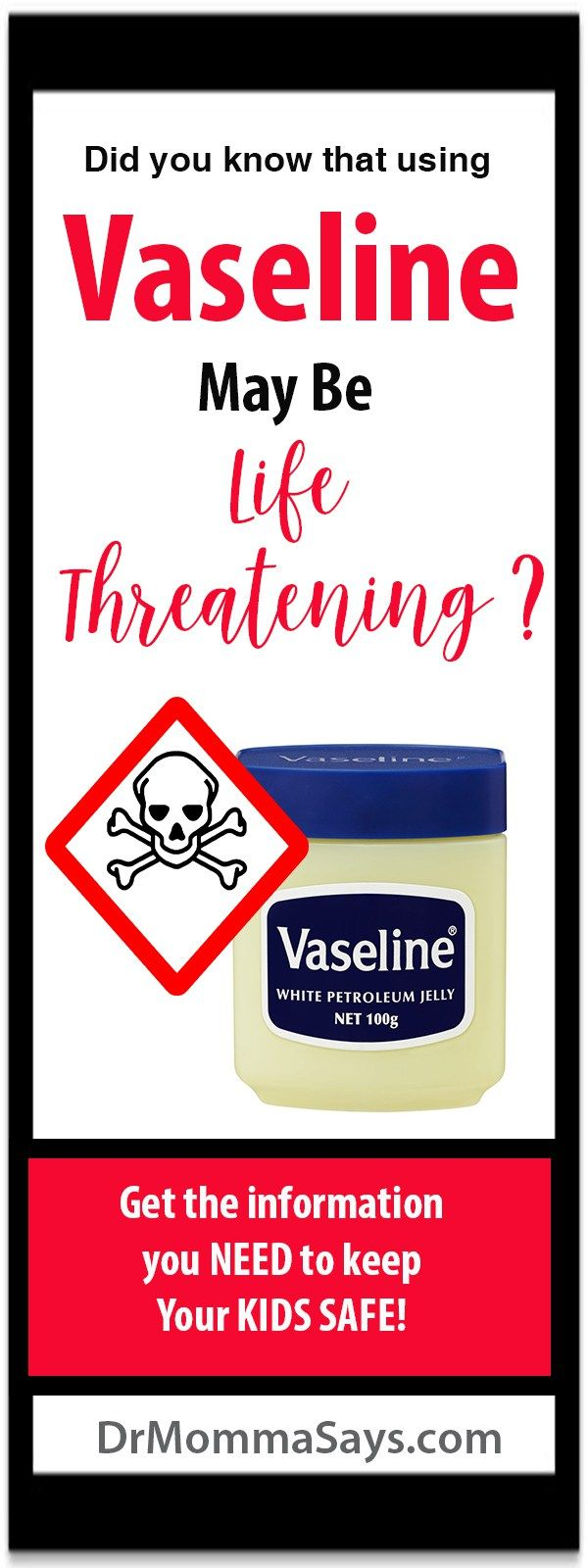 Dr. Momma shares critical information about the dangers of placing vaseline in the nose to treat dry nose from allergies and other causes.