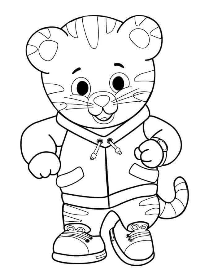 Daniel Tiger S Neighborhood Coloring Pages Daniel Tiger Daniel Tiger Birthday Daniel Tiger S Neighborhood