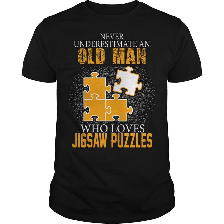 Jigsaw puzzles man