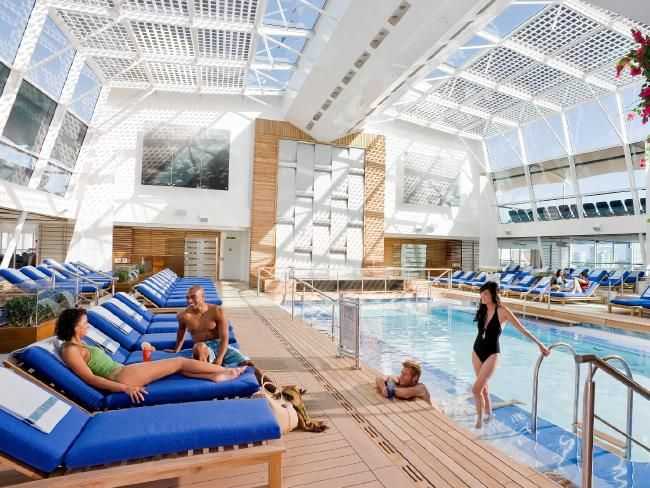 The coolest swimming pools at sea | Escape