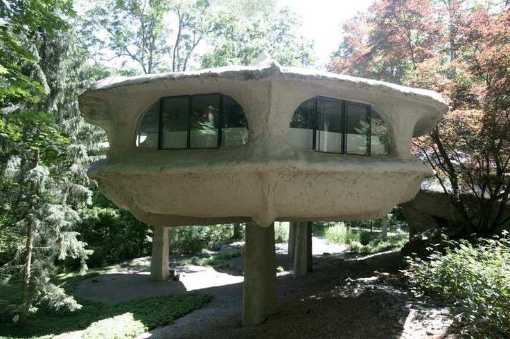 The Mushroom House | 1971 | Powdermills Park, Rochester, New York | James H. Johnson