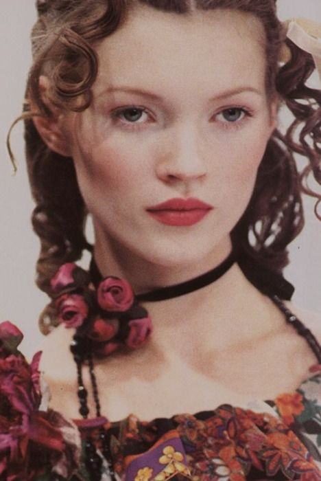 Kate Moss at Anna Sui S/S 1992
