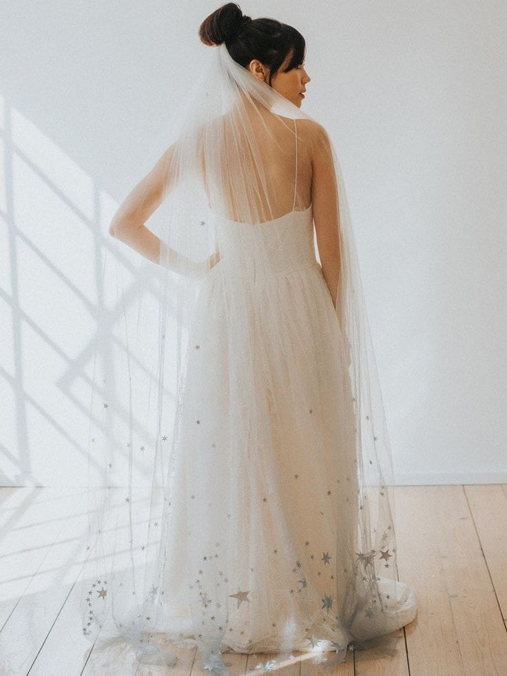 20 Celestial Wedding Dresses & Bridal Accessories