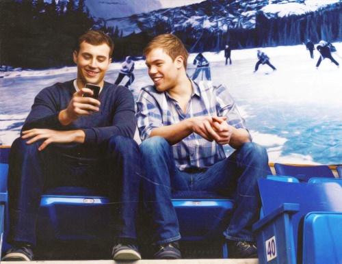 Taylor hall and Jordan Eberle would make an amazing bromance