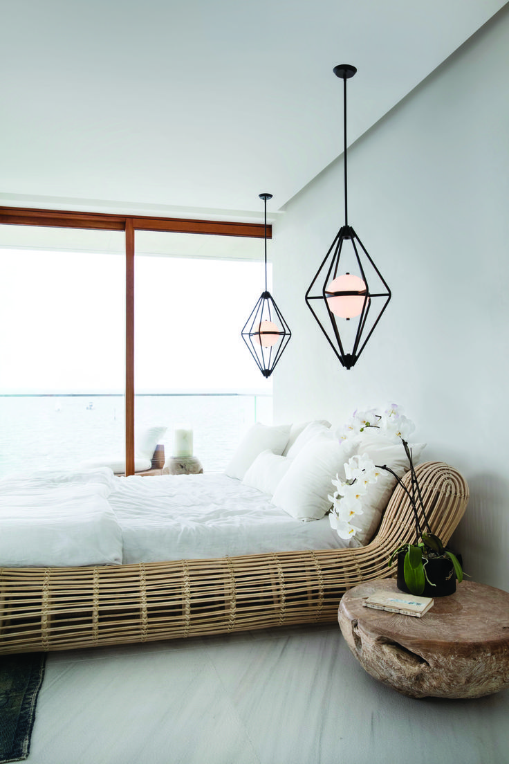 Oversize fixtures or pendant lights make a style impact when ...