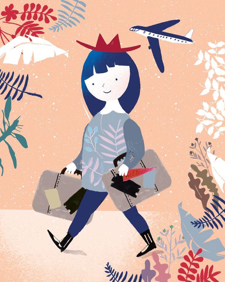 Illustration for Kikimora magazine Paulina Derecka