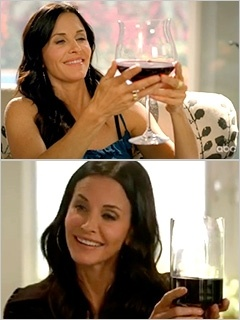 Cougar Town Giant Wine Glass
