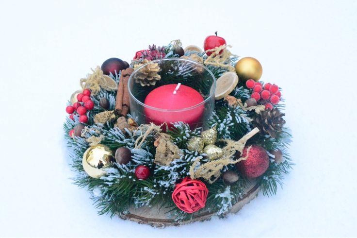 Подсвечник ручной работы из высококачественной литой хвои #candleholder #christmasdecor