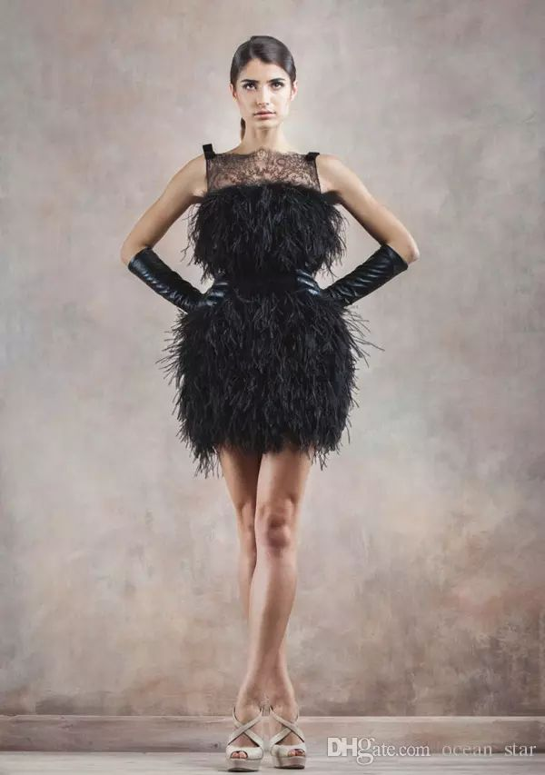 котором платья из перьев фото приготовить