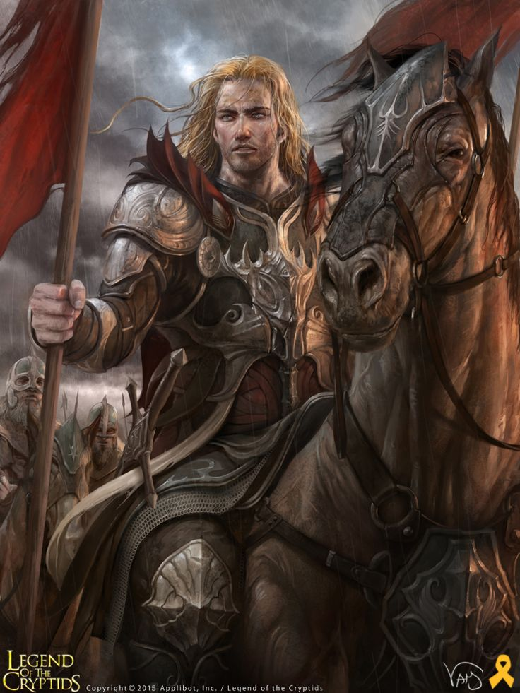 Artist: Yang Mansik aka yam8417 - Title: Unknown - Card: Tubal-Cain, Lost General (Last Man)