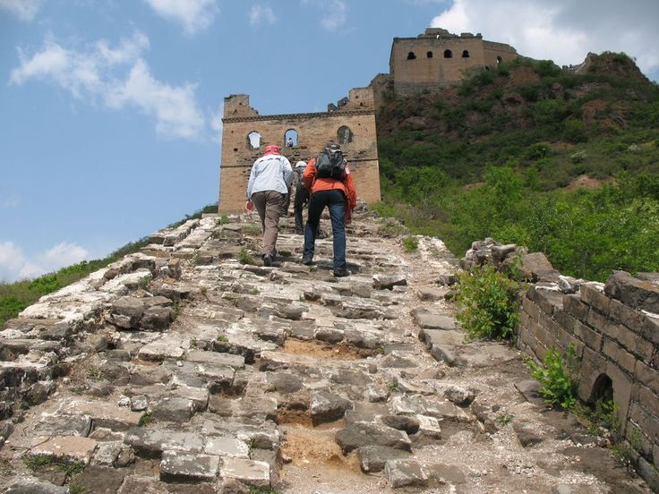 Hiking on the Great Wall is one of the Highlight of our hiking trip to China.