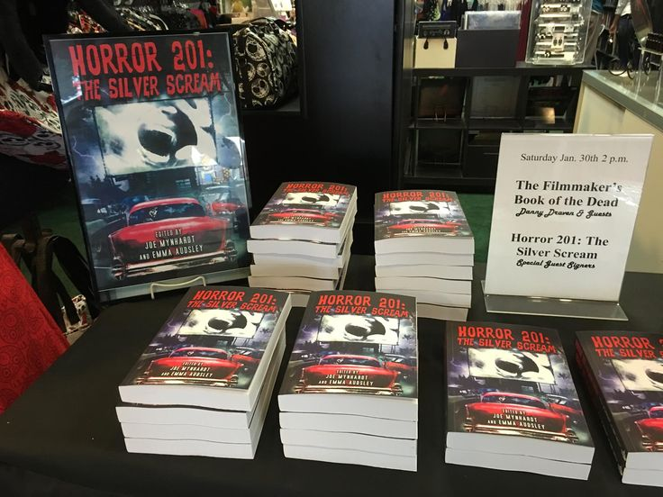 Dark Delicacies book signing event for Horror 201: The Silver Scream.