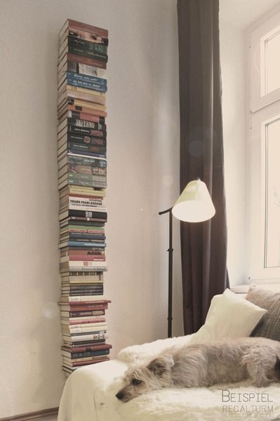Wandregale - Schwebendes Bücherregal - ein Designerstück von livro_flutuante bei DaWanda