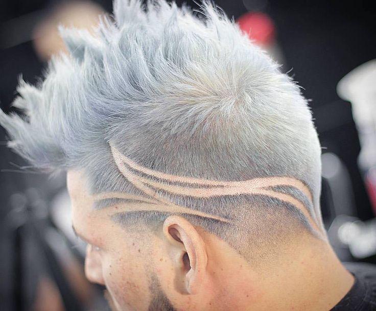 Tattoo Haircuts Tresses Hair Tattoos Hair Cuts Hair Styles