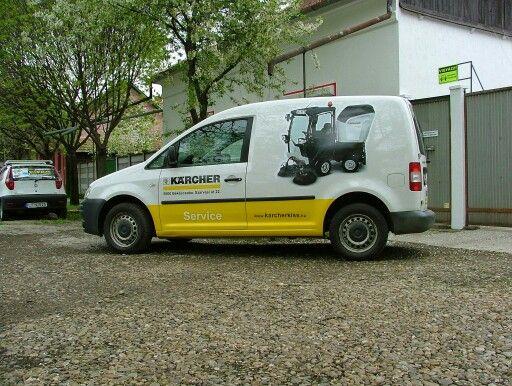 Kärcher carwrap www.szitamax.hu #smax #carwrap #printedvinyl #carporn #autodekor #flotta #flottadekoracio