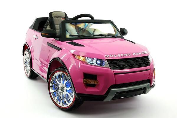 RANGE ROVER STYLE 12V KIDS RIDE-ON CAR USB MP3+MP4 BATTERY POWERED WHEELS RC REMOTE | PINK
