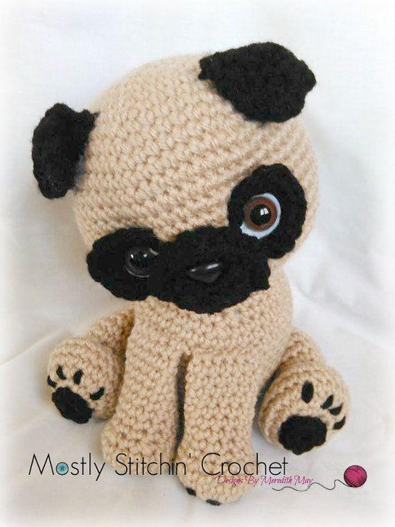 Pug Amigurumi Dog pattern by Helen Brady | Crochet amigurumi free ... | 760x570
