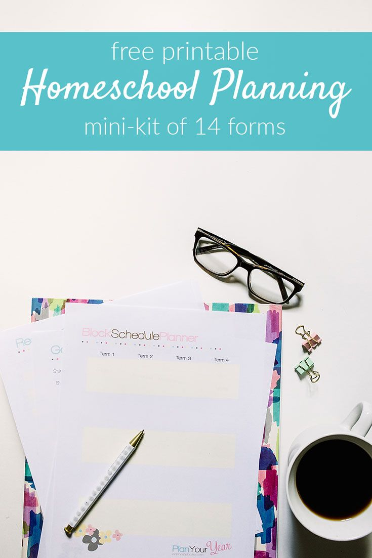 With this free mini-planning kit I'll share with you the forms and process you need to create a plan that eliminates decision fatigue and build a homeschool you love!