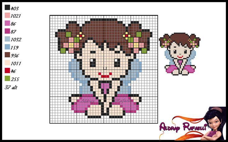 Fairy girl pattern by Aldray Ferreira
