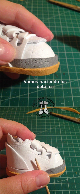 Tutorial Zapatillas Kelme Todo lo que necesitas para fofuchas está en mitiendadearte.com