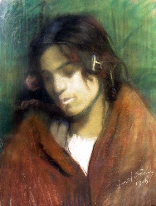 """Aurel Baesu - Portert de fata/""""Portrait of a girl"""""""