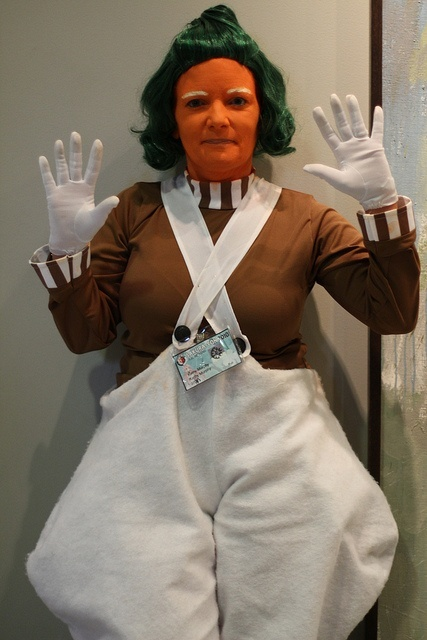 Oompa Lumpa from Charlie and the Chocolate Factory