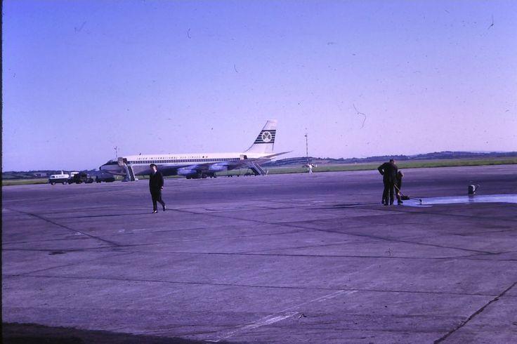 Aer Lingus Irish International Airlines Boeing 720 Aug-66  original slide
