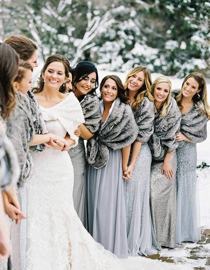 12 Welcoming Ways To Make Your Cold Weather Wedding Feel Warm And Cozy Winter Wedding Dress Winter Wedding Decorations Winter Wonderland Wedding