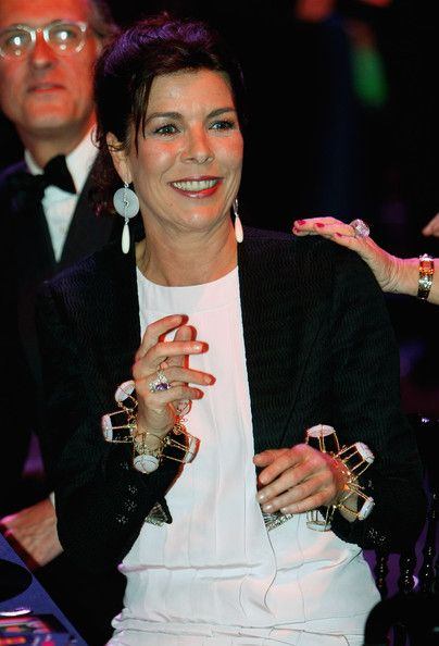 Princess Caroline Photos - Princess Caroline of Hanover attends the 2009 Monte Carlo Rock' N Rose Ball held at The Sporting Monte Carlo on March 28, 2009 in Monte Carlo, Monaco. (Photo by Eric Gaillard-Pool/Getty Images) * Local Caption * Princess Caroline of Hanover - 2009 Monte Carlo Rose Ball