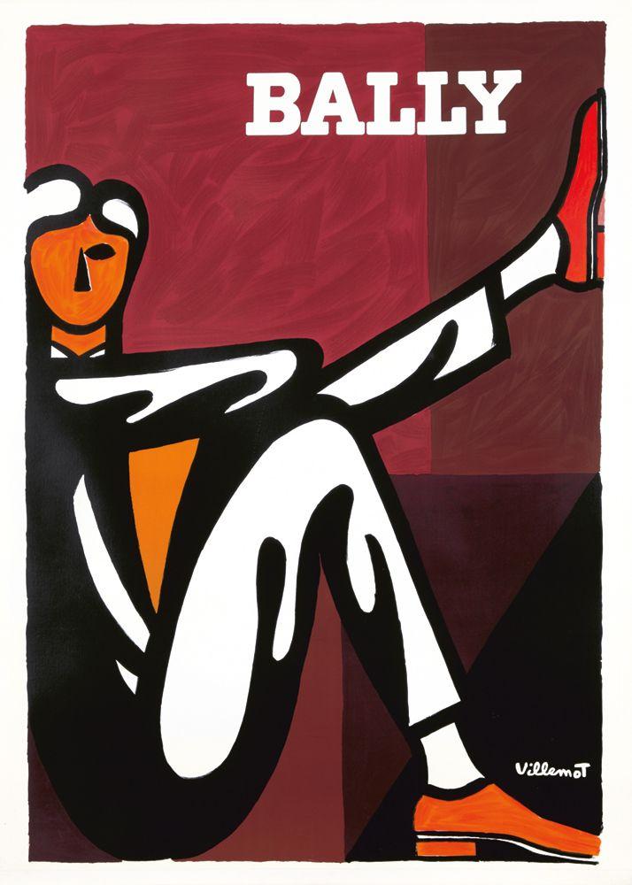 Bally 1986 by Bernard Villemot