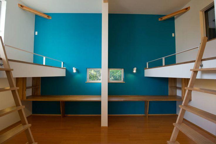 """モダン子供部屋のデザイン:""""""""をご紹介。こちらでお気に入りの子供部屋デザインを見つけて、自分だけの素敵な家を完成させましょう。"""
