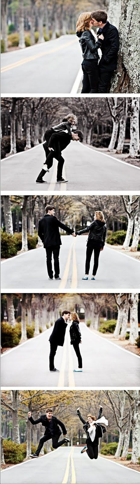 I like the road with trees on both sides...def want shots like this for either engagement or wedding