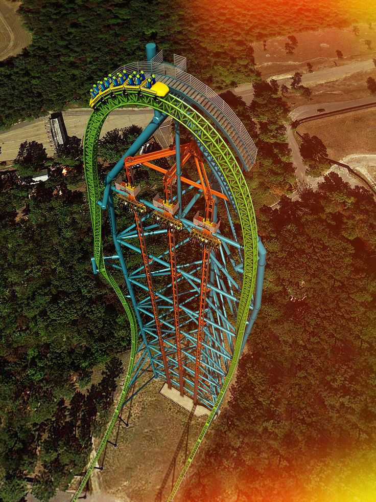 Puke and Rally: five record-breaking amusement rides are coming to America. #themeparks #rollercoaster #roadtrippers