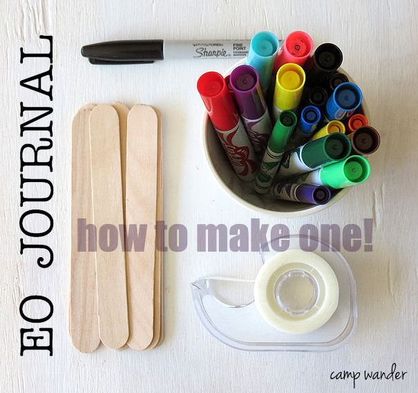 How to Make an Essential Oil Journal.