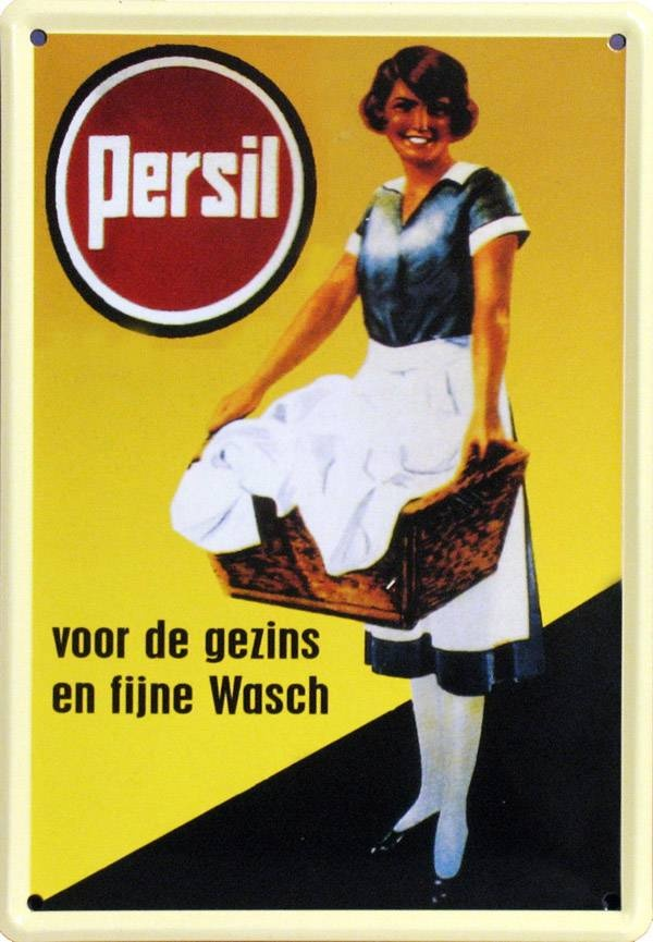 Old poster from Persil