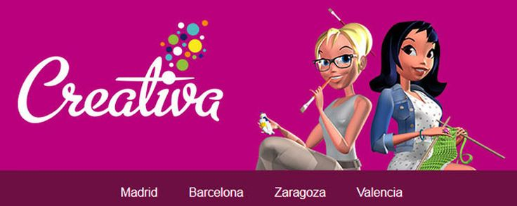 Del 22 al 25 de Octubre 2015 estaremos en Creativa Madrid, el salón de las manualidades, labores y bellas artes.  Os esperamos :-)