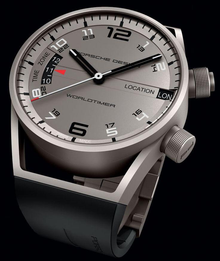 Porsche Design Worldtimer Watch - So beautiful!!!