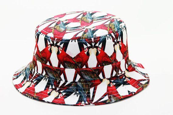 Graznido sombrero del cubo por happycaps15 en Etsy