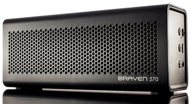Best portable speakers 2013 - Bluetooth speakers to buy - Braven 570 - Trusted Reviews - £99.99