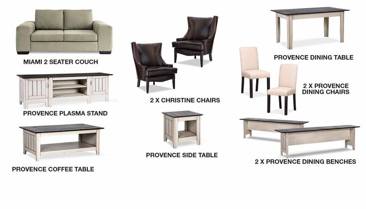Provence Combo Deal | Rochester Furniture