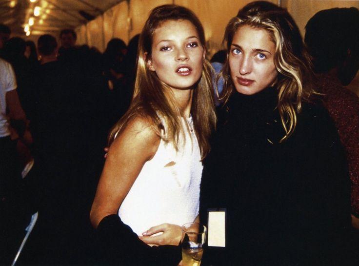 kate moss & carolyn bessette, 1992