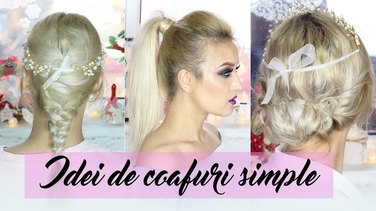 3 Idei de coafuri simple pentru Craciun & Revelion_coafuri_simple_special_koko_hair_hairstyle_beuty_blogger_brided_hair_christmas_hairstyle_new_year_hairstyles