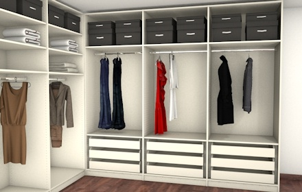 9 best images about schrank on pinterest closet organization organized closets and closet space. Black Bedroom Furniture Sets. Home Design Ideas